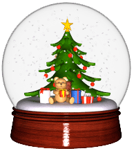 Snow Globe 3D which rotate 360 degrees.